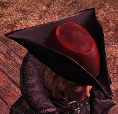 Cleaner Black and Red Minuteman General's Hat