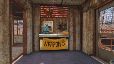 Main Building - Weapon Store