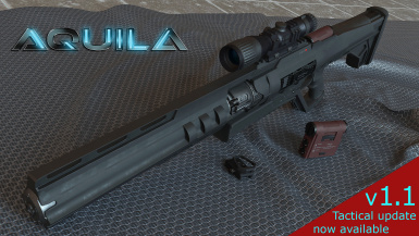 AQUILA - Laser Rifle