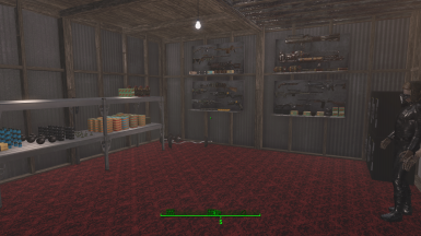 Generals loft, personal storage/ armory