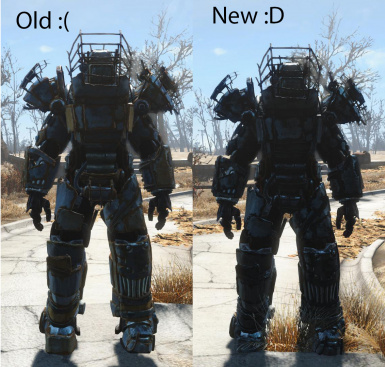 Black Raider Power Armor