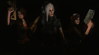 Cait-Curie and Piper replacers and Looksmenu presets
