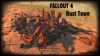 Dms rust town blueprint at fallout 4 nexus mods and community dms rust town blueprint malvernweather Image collections