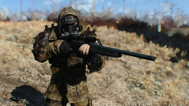 Wasteland Operator HD (Multicam Railroad Armor and Assault Gas Mask)