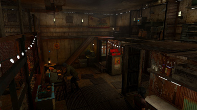 Scavenger's Safehouse Player Home (with Merchant)