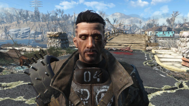 Aaron MKII - Male Preset for LooksMenu at Fallout 4 Nexus