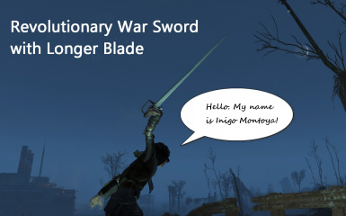 Larger Revolutionary Sword