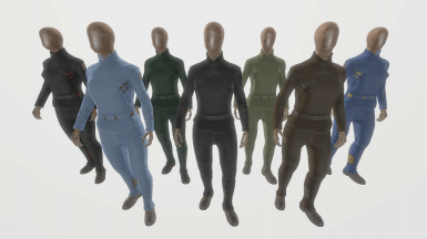 Faction Synth Uniforms