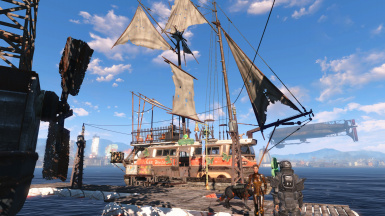 Flotsam and Jetsam -Sim Settlements Addon pack