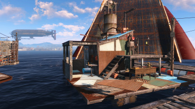Floating Shack
