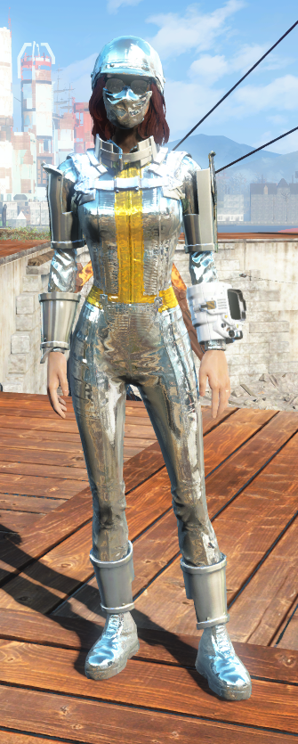 Chrome Outfit