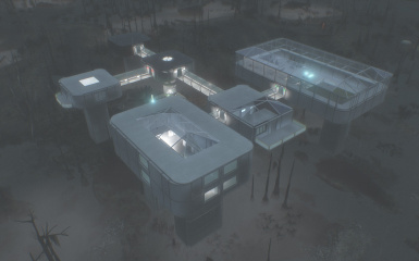 Institute Murkwater Base Settlement Blueprint