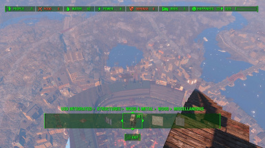 Diamond City Settlement - Includes Stands