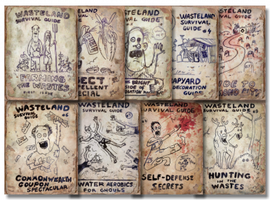 Wasteland magazines