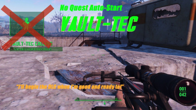 No Quest Autostart - Vault-Tec at Fallout 4 Nexus - Mods and