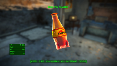 Sunset Sarsaparilla (Nuka-Cola Quantum)