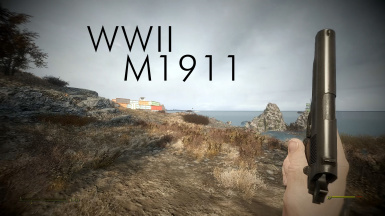 Battlefield 1 Animation Pack Remaster - WWII M1911