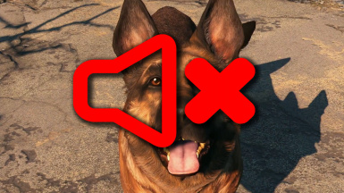TOTALLY silent Dogmeat