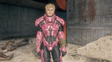 Optional separated helmet and armor