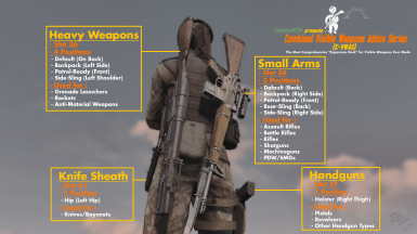 Combined - Visible Weapons Addon Series (C-VWAS) - Fully Customisable Holstered Weapons