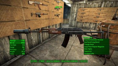 Handmade Rifle Extension at Fallout 4 Nexus - Mods and community