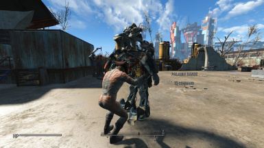 Bat file to make Npc or companion exit power armor