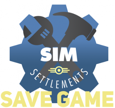 Sim Settlements - Savegame for City Builders and Designers