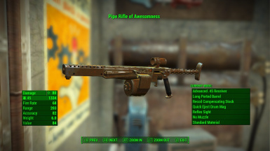 Pipe Weapon Metal Receiver and new material