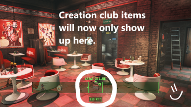 Creation Club Workshop Category Only at Fallout 4 Nexus