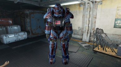 American Flag - T45 Power Armor