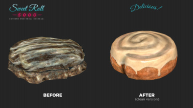 Sweet Roll 5000 - Xtreme Sweetroll Mesh and Texture Replacer