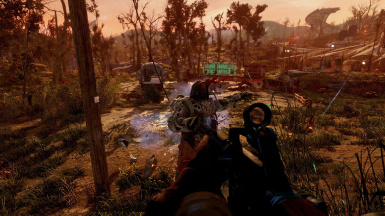 Gameplay with the Rifle