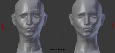 Smooth morphs for females
