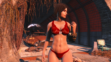 Outfit credit to ousnius - Lacy Underwear CBBE - Bodyslide