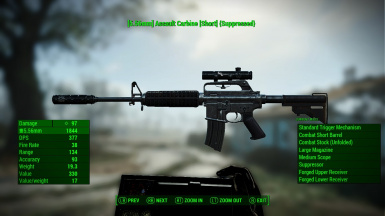 Epic Assault Carbine Sniper