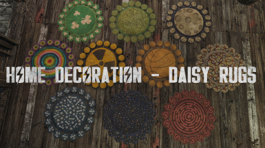 Home Decoration - Daisy Rugs