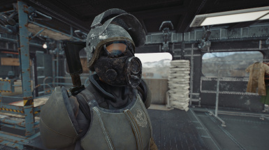 Metro Gas Masks - M17 mesh fix
