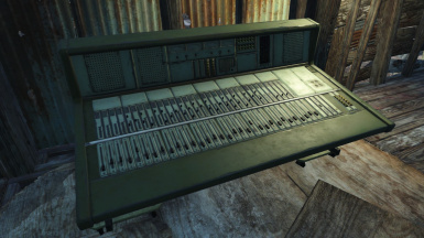 Craftable Mixing Console