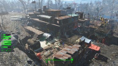 Sim Settlements City Plans - Mass Fusion Containment Shed Nuclear Reprocessing by Yagisan