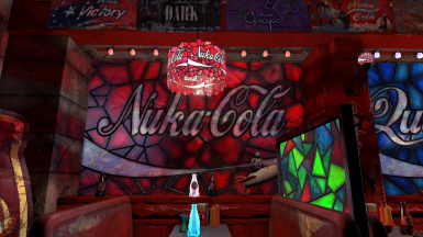 The Left Field Diner - Sponsored by Nuka Cola