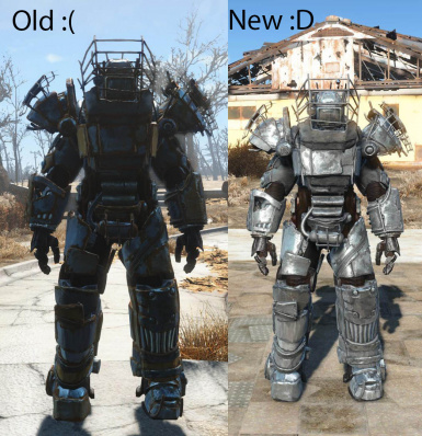 Steel Raider Power Armor