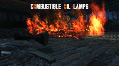 Combustible Oil Lamps