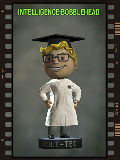 Intelligence BobbleHead