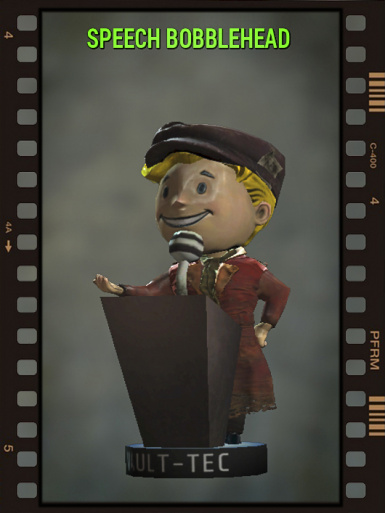 Speech BobbleHead