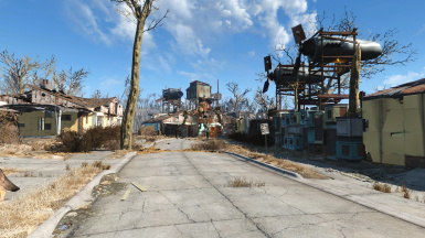 Sim Settlements - City Plan -Sanctuary-Junk Town