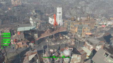 (PCSM) Sim Settlements City Plans - Red Rocket Natick Outpost by Yagisan