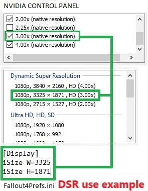 Full screen DSR resolution scaling fix (Fallout4 and Skyrim