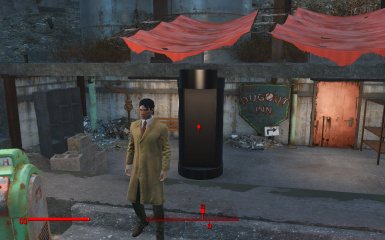FALLOUT WHO BLACK TARDIS