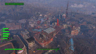 Sim Settlements City Plans - Red Rocket Fort Hagen Outpost by Yagisan