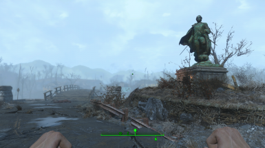 Minutemen Statue replacer (From the Discoverable Statues version)